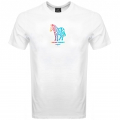 PS By Paul Smith Zebra Logo T Shirt White